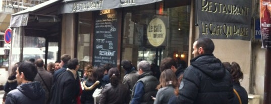 Le café qui parle is one of Paris.