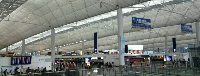 Aeroporto Internacional de Hong Kong (HKG) is one of Airports Visited.