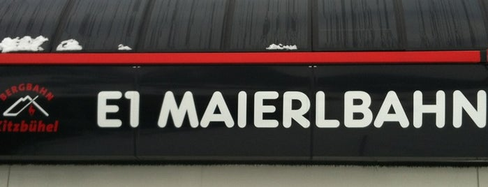 Maierlbahn Talstation is one of Yves's Liked Places.