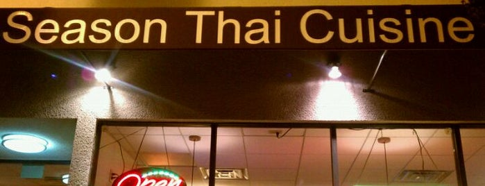 Season Thai Cuisine is one of The yummy files.