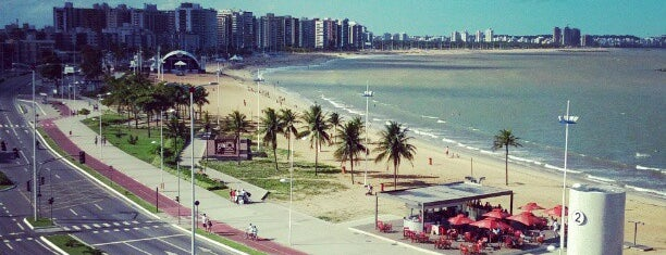 Praia de Camburi is one of Carol 님이 좋아한 장소.