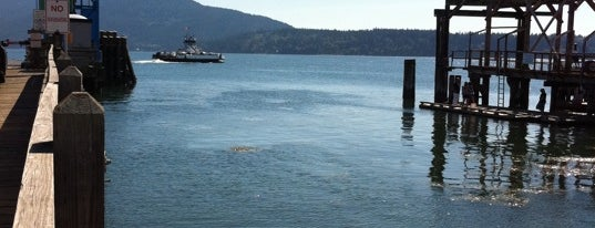 Lummi Island Ferry is one of Christian's Liked Places.