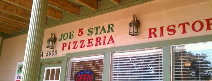 Joe 5 Star Pizzeria Ristorante is one of Good beer good times.