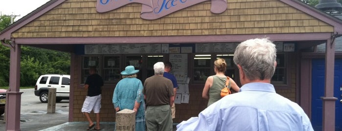 Gray's Ice Cream is one of Rhode Island.