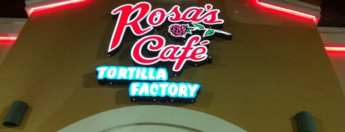 Rosa's Cafe Tortilla Factory is one of Happy Tummy.