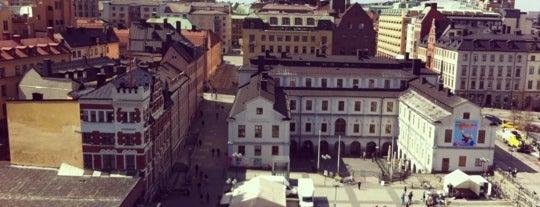 Södermalmstorg is one of Stockholm.