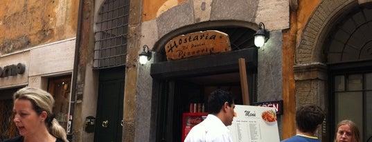 Hostaria de' Pastini is one of Rome.