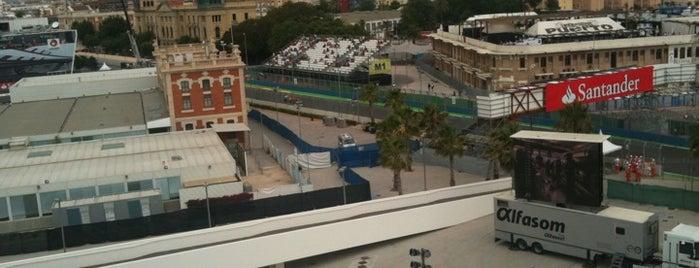 Circuit de Valencia is one of 2012 Formula 1™ racing circuits essentials.