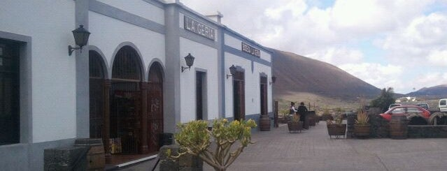 Bodega La Geria is one of Lanzarote, Spain.