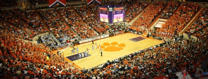 Littlejohn Coliseum is one of NCAA Division I Basketball Arenas/Venues.