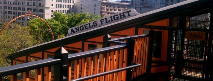 Angels Flight Railway is one of Essential Los Angeles.