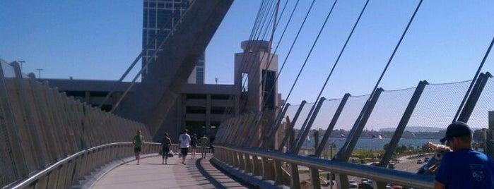 Harbor Drive Pedestrian Bridge is one of Favorite Haunts Insane Diego.