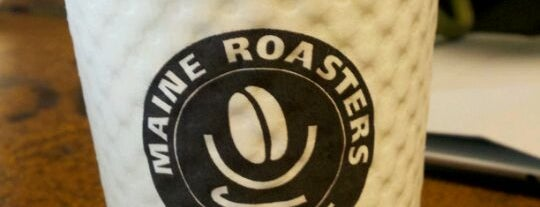 Maine Roasters Coffee is one of Lieux qui ont plu à Dana.