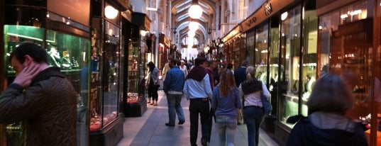 Burlington Arcade is one of England (insert something witty here).