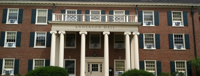 Anderson hall is one of Miami U.