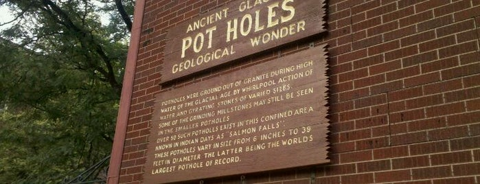 Glacial Potholes is one of Western MA Tourism.