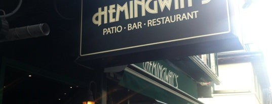 Hemingway's is one of Orte, die Alled gefallen.