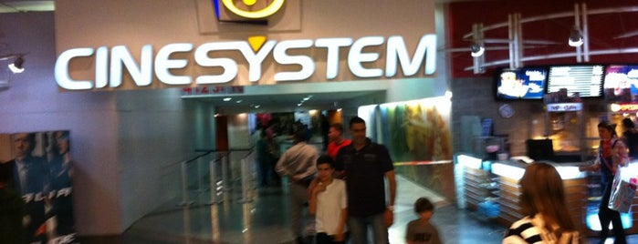 Cinesystem Cinemas is one of Locais curtidos por Nelson.