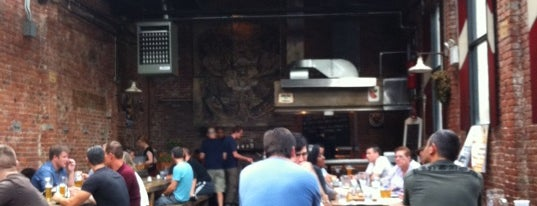 Radegast Hall & Biergarten is one of Outdoor drinking spots.