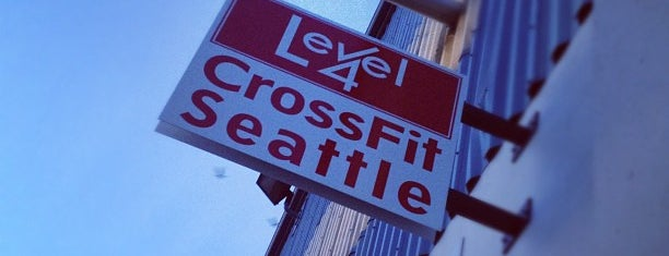 Level 4: Crossfit Seattle is one of kristyさんのお気に入りスポット.