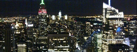 Top of the Rock Observation Deck is one of New York to do list.