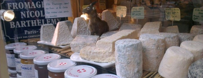 Fromagerie Barthélemy is one of Foodie guide to Paris.