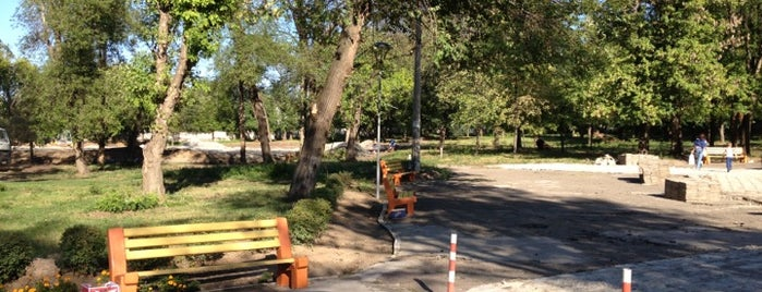 """Городской молодежный парк досуга и отдыха """"Новокодацкий"""" is one of Катерина 님이 저장한 장소."""