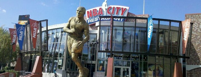 NBA City Restaurant is one of My vacation @Orlando.