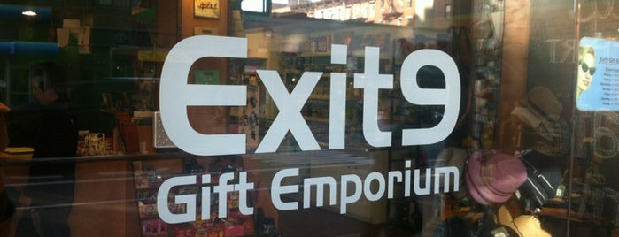 Exit 9 Gift Emporium is one of Thursday.