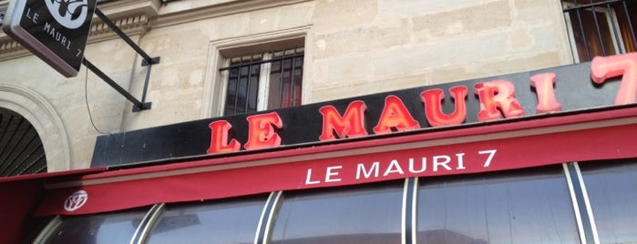 Le Mauri 7 is one of Paris Tipsy !.