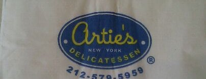 Artie's New York Delicatessen is one of The City's Best Hot Dogs.