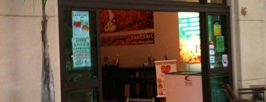 Carbonic is one of Lugares guardados de Yuri.