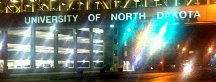 University of North Dakota is one of Revisiting the Great Road Trip to SD.