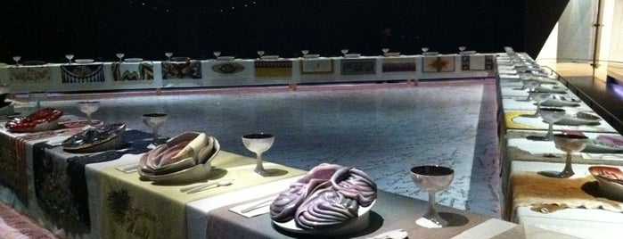 Judy Chicago's 'The Dinner Party' is one of Art Gallery, Art Museum.