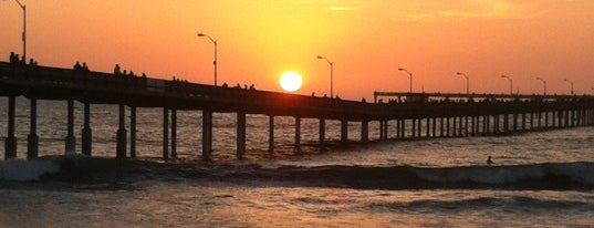 Ocean Beach Municipal Pier is one of San Diego/ o county must dos!.