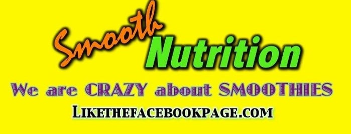 Smooth Nutrition is one of Healthy Spots.