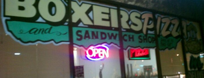 Boxers Pizza & Sandwich Shop is one of Vegas Baby!!.