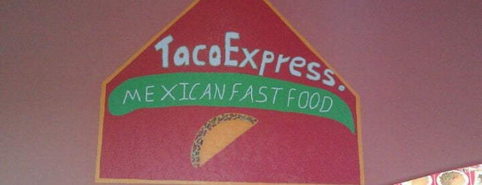 Taco Express is one of Diners, drive-ins, and such.