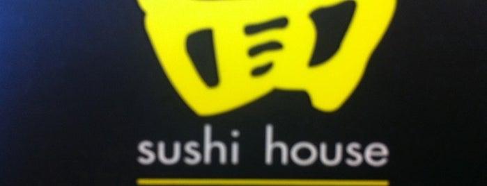 SushiHouse is one of Rodrigo : понравившиеся места.
