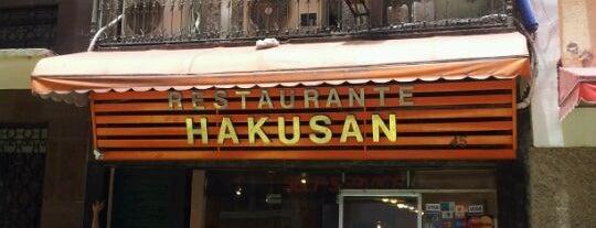 Hakuba is one of Restaurantes.