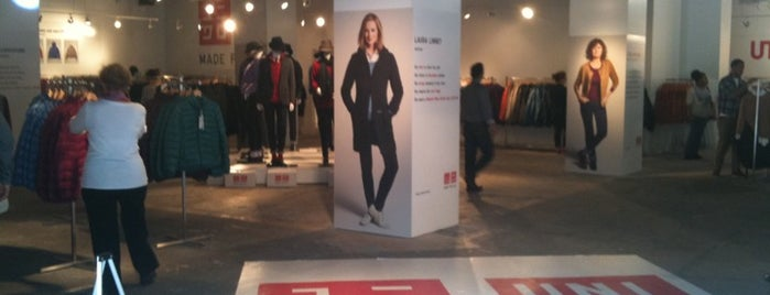 Uniqlo Pop-Up Store is one of Midtown.