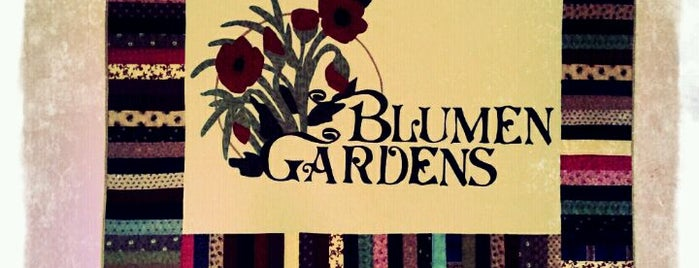 Blumen Gardens is one of Lugares favoritos de Kim.