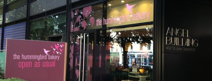 The Hummingbird Bakery is one of London's Cupcakeries.