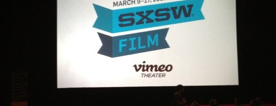 Vimeo Theater is one of SXSW 2013 - March 8 - 17 - Austin TX.