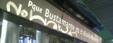 Parada 2 - Metro Parque Bustamante (PC84) is one of Providencia.