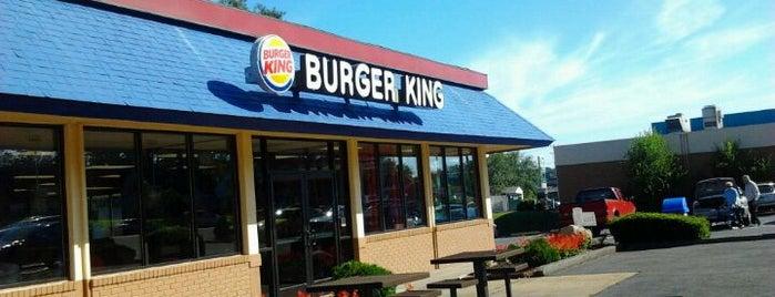 Burger King is one of Joe's Regular Stops.