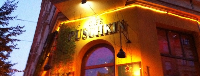 Café Puschkin is one of Lieux qui ont plu à Helena.