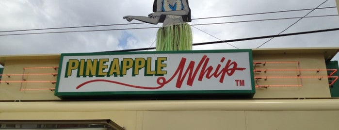 Pineapple Whip is one of SGF Food.