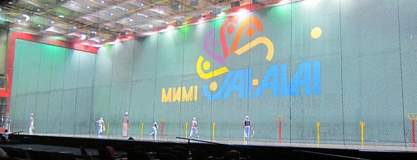 Miami Jai Alai is one of My trip to Florida.