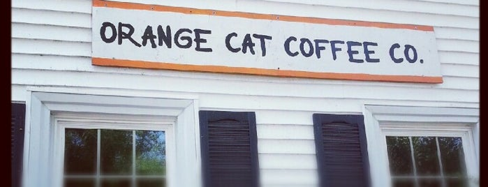 Orange Cat Coffee Co. is one of Buff.